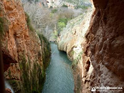 Parque Natural Monasterio de Piedra; rutas senderos; viajes y aventura;ecoparque cercedilla